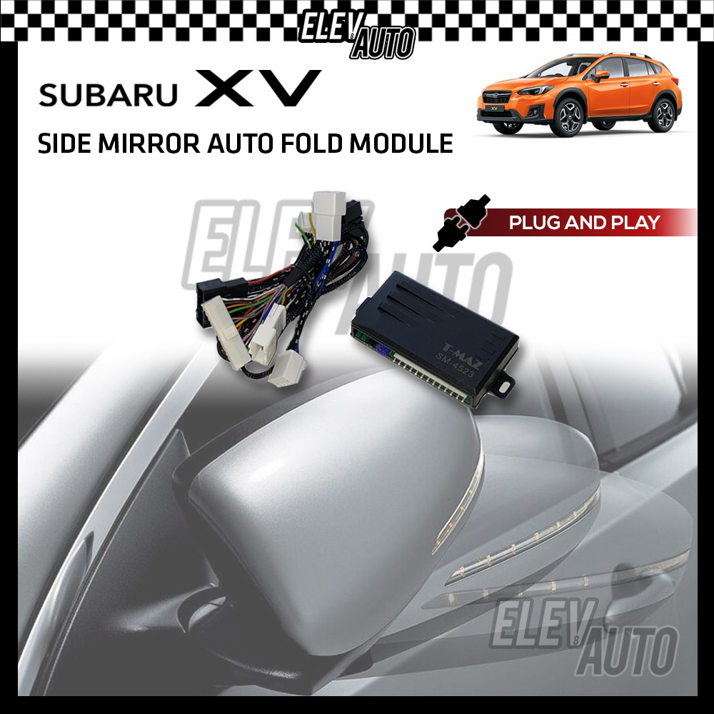Side Mirror Auto Fold Module PLUG AND PLAY Subaru XV (Year 11-17)