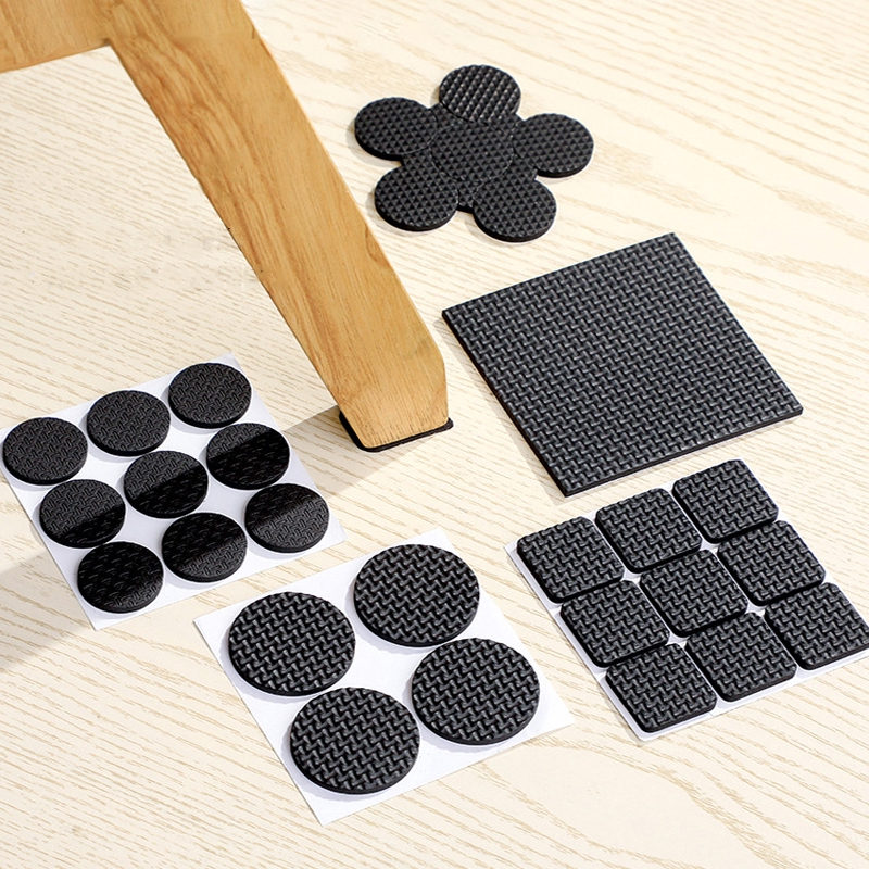 Hot Tableware Chair Leg Pad Table Legs, Rubber Pads For Under Furniture Legs