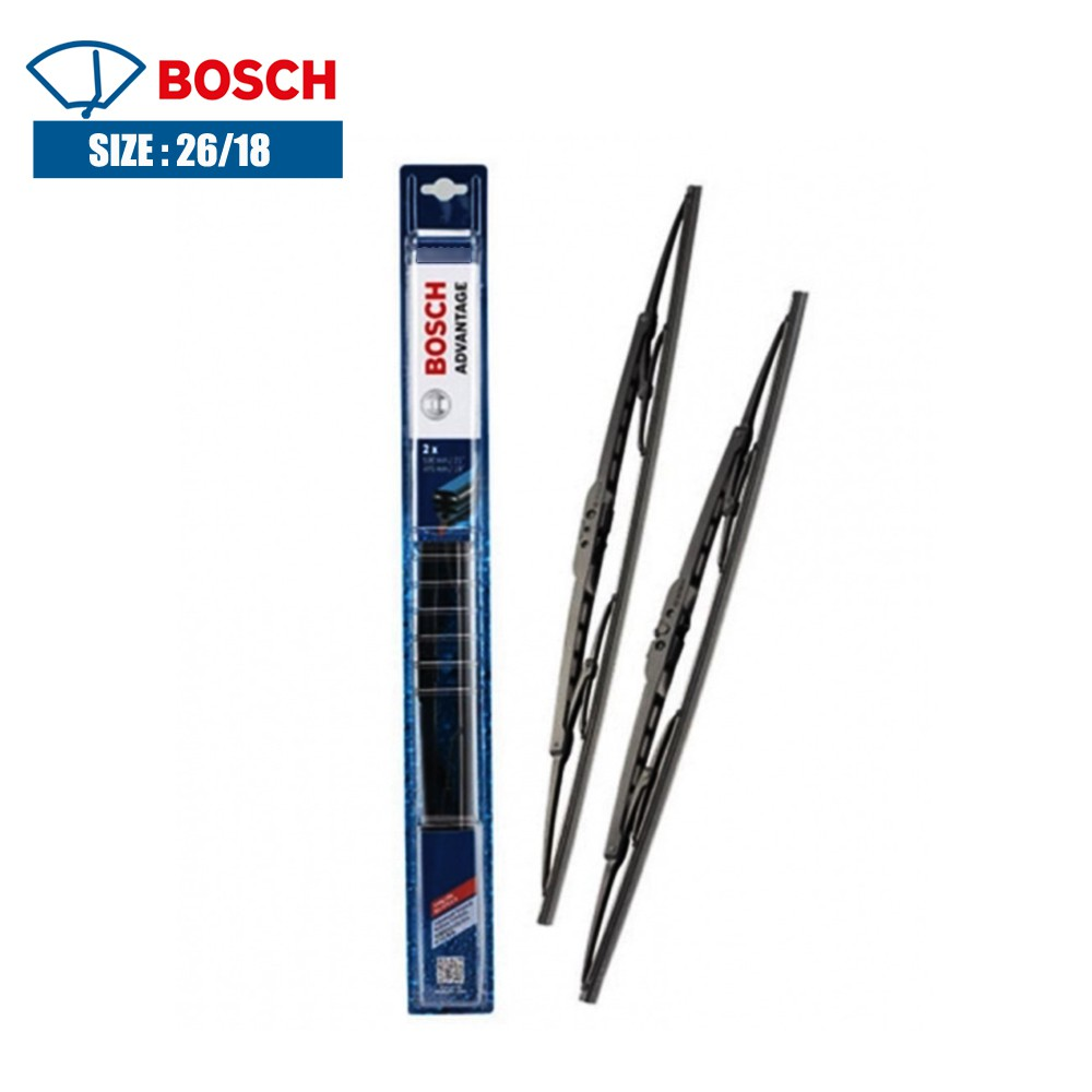 BOSCH 1PAIR-U HOOK BA2618 CIVIC FC/ACCORD/CEFIRO WIPER