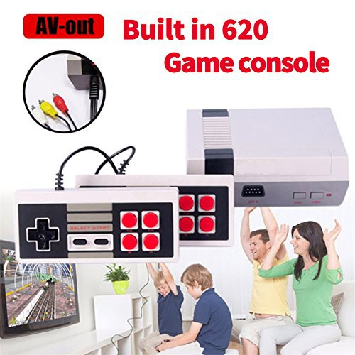 READY STOCK 620 Games Console Nintendo NES Mini TV Game Console 8 Bit Retro Game