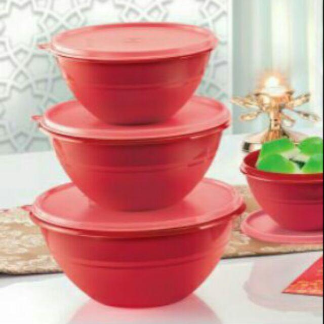 TUPPERWARE Wonderlier Bowl Set of 3