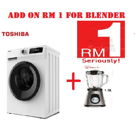 Toshiba 8.5KG FRONT LOAD REAL INVERTER WASHER TW-BH95S2M