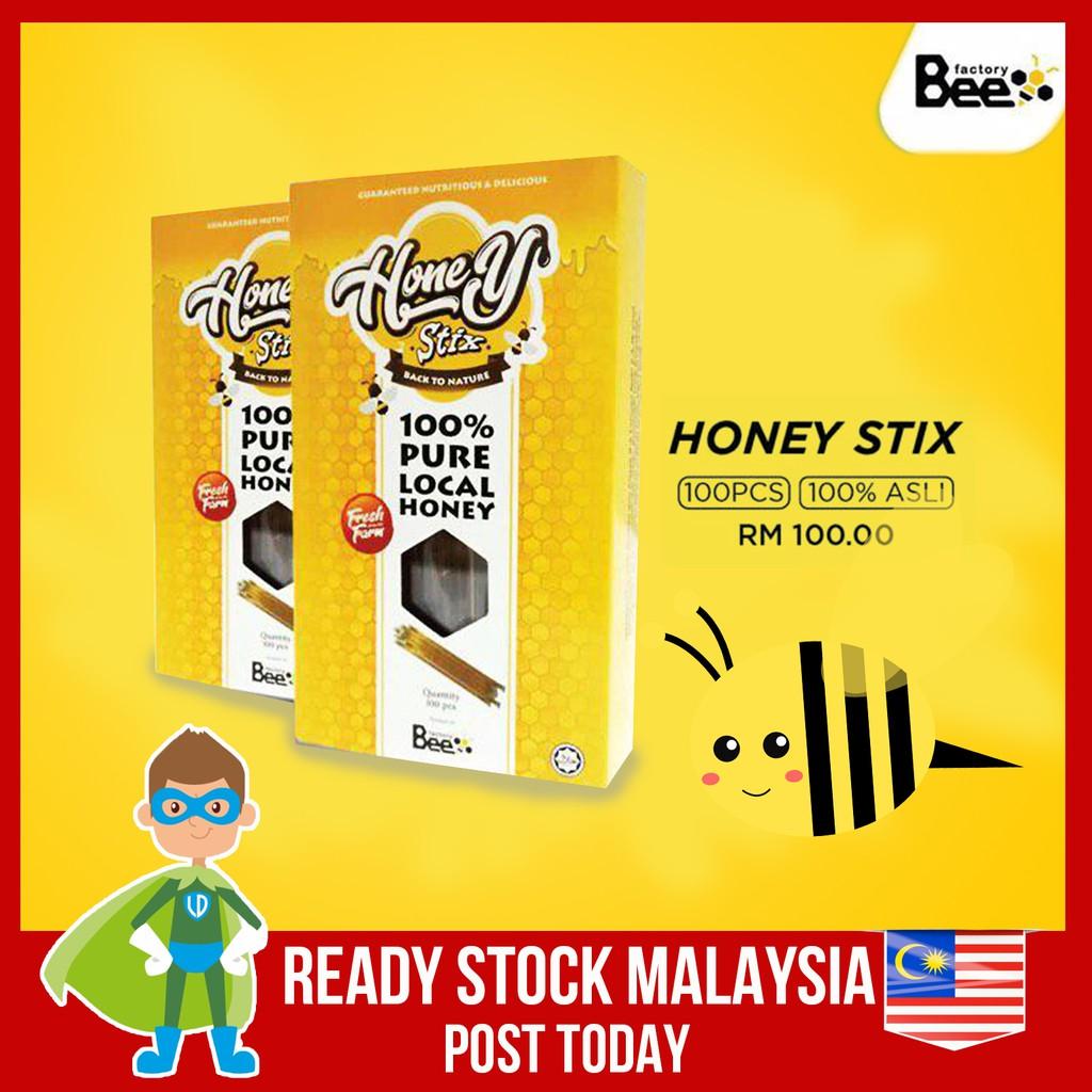 Madu Stick Stix Honey Stick Madu Lebah 100% Original By Shuib Bee Factory