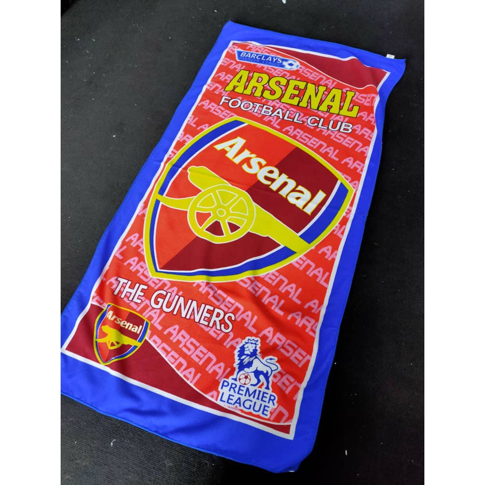 Arsenal Kelab Bola Sepak Fans Tuala Mandi Serap Air