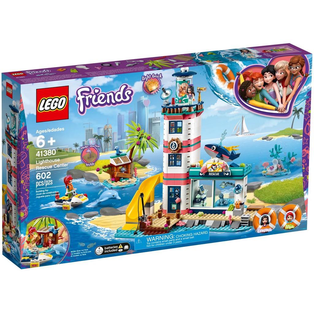 Lighthouse Rescue Lego Center 41380 Friends CBWdexro