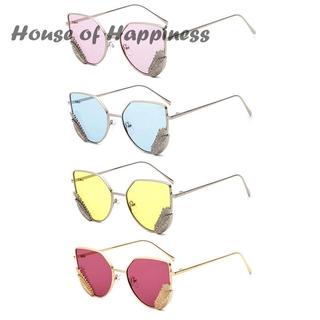 2627231f0c2e Colorful Wing Shapes Sunglasses Women Retro Sun Glasses Personality Female  | Shopee Malaysia