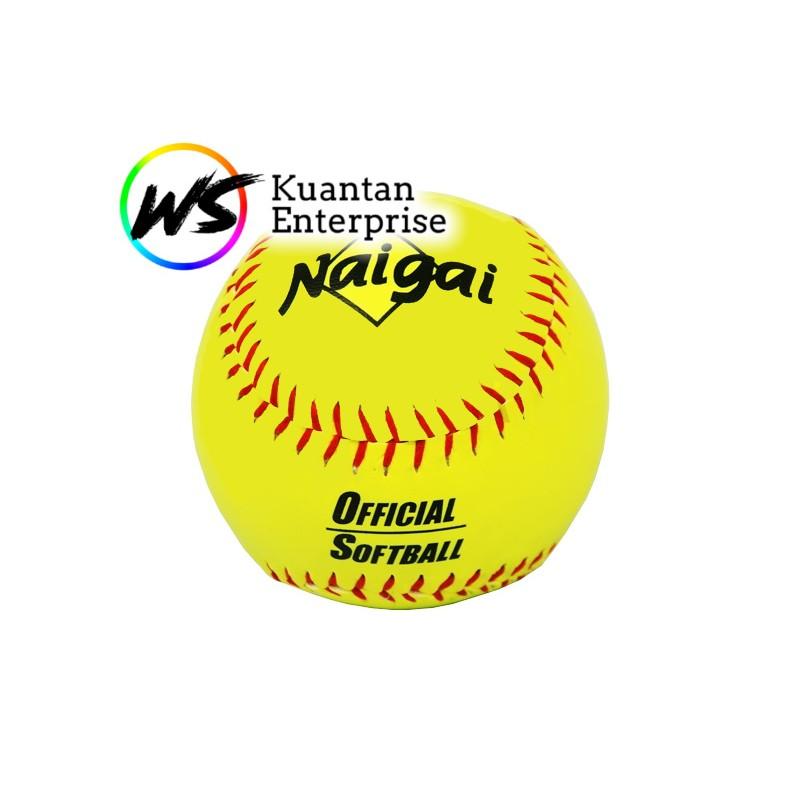 【100% Original】Naigai Softball | Bola Sofbol Naigai