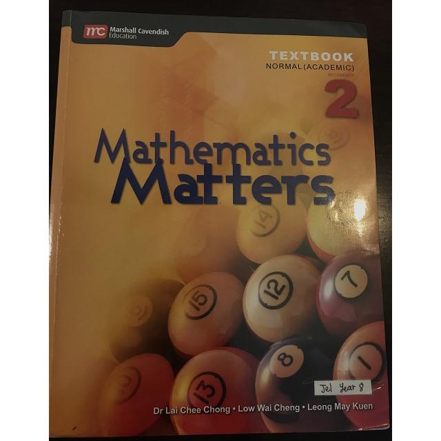 Mathematics Matters Textbook Sec 2 (Normal Academic)