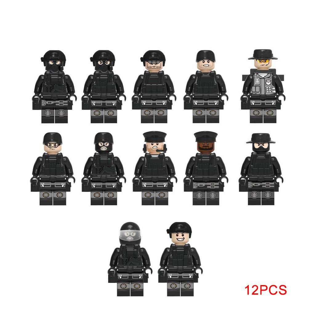 Lego WW2 Soldier Equipment Army Figures Weapons Military Special Police
