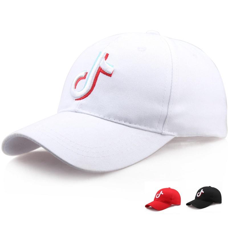 91e818e3c7735 Unisex 100% Cotton Tik Tok Cap Hip-hop Snapback Cap Tiktoker Live broadcast  Hat