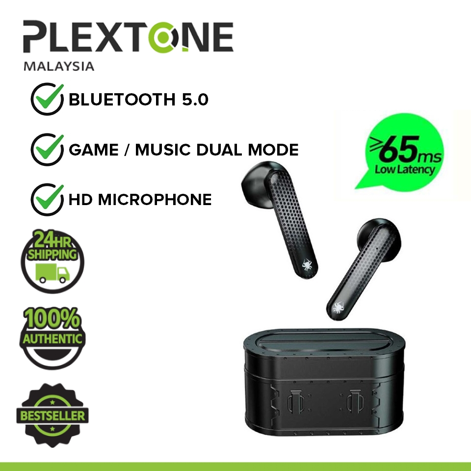 PLEXTONE 4GAME Bluetooth Gaming Headphone with 65ms Ultra Low Latency