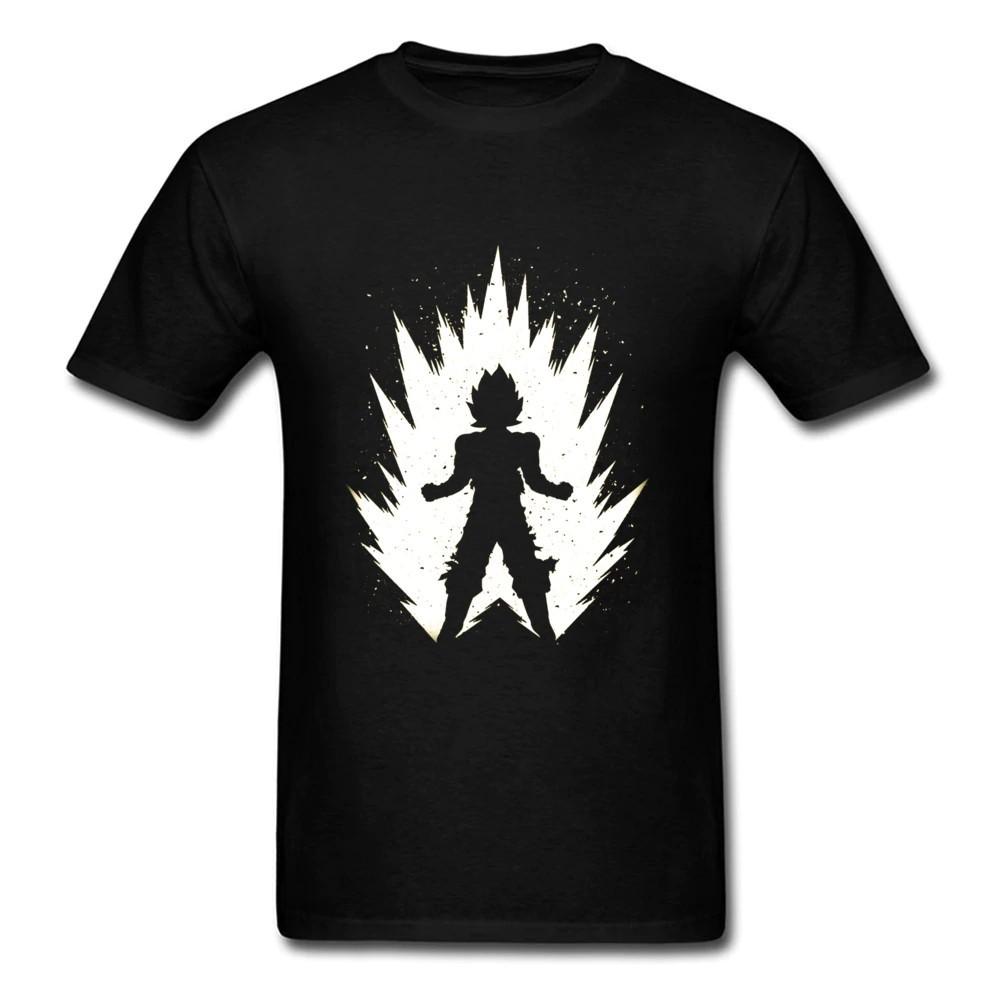 Dragon Ball Z Vegeta Silhouette Women/'s T-Shirt