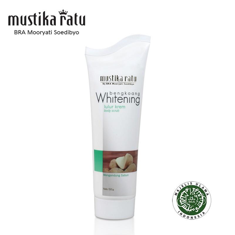Mustika Ratu Bengkoang Whitening Series Lulur Soap for remove dead skin 150ml