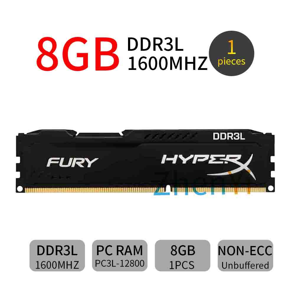 Per Kingston HyperX Savage 8GB 16GB 32GB 1600MHz DDR3 PC3-12800 Red Desktop RAM