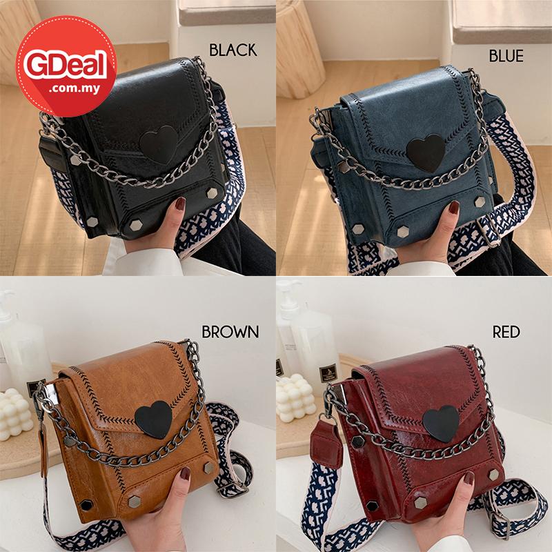 GDeal Women Messenger Bag Simple Korean Style Hand Carry Cross Body Handbag Beg Tangan Wanita