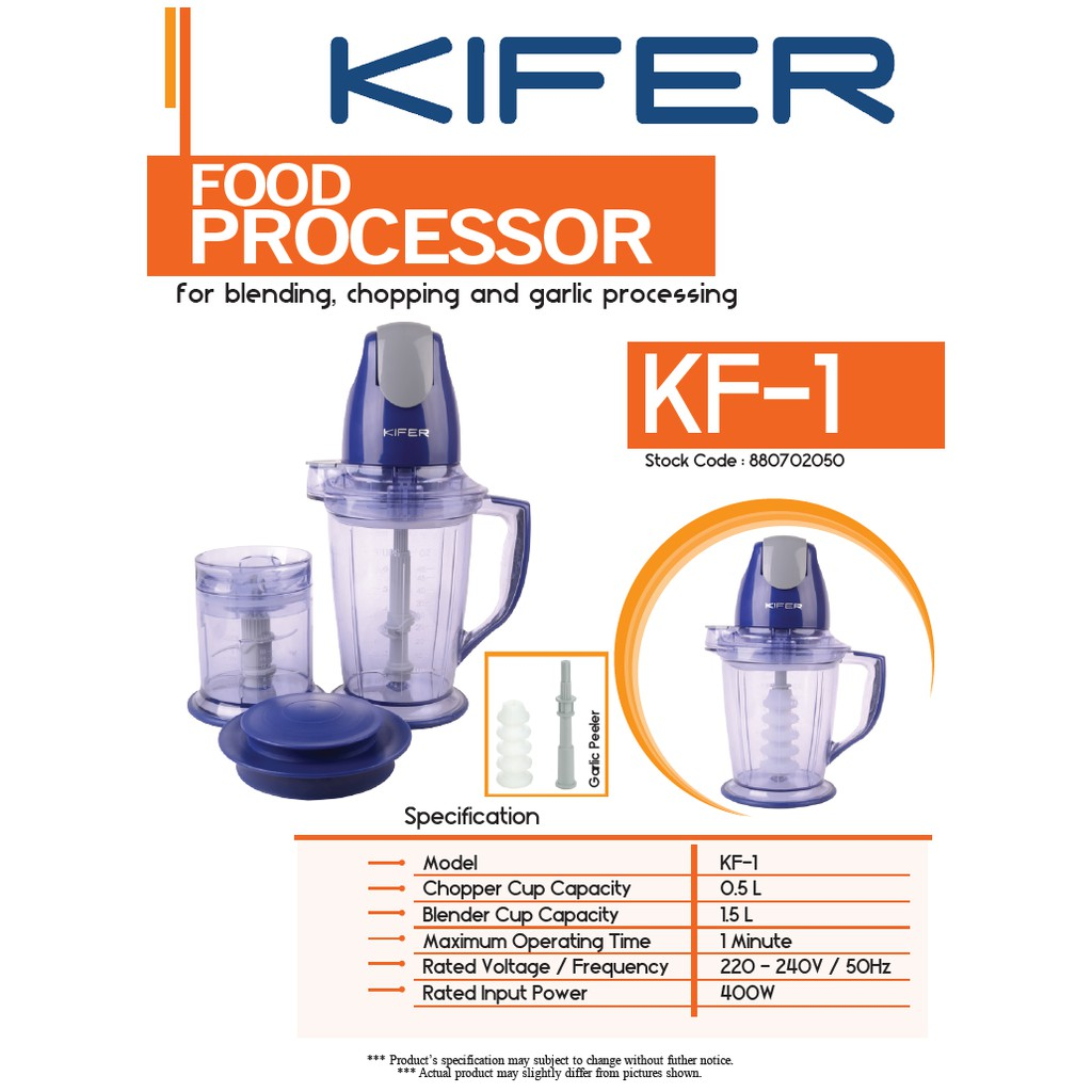 Image result for kifer food processor