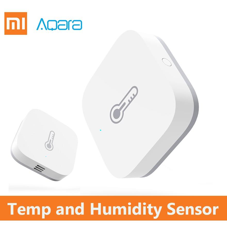 xiaomi aqara temperature humidity sensor temperatura smart home remote  control