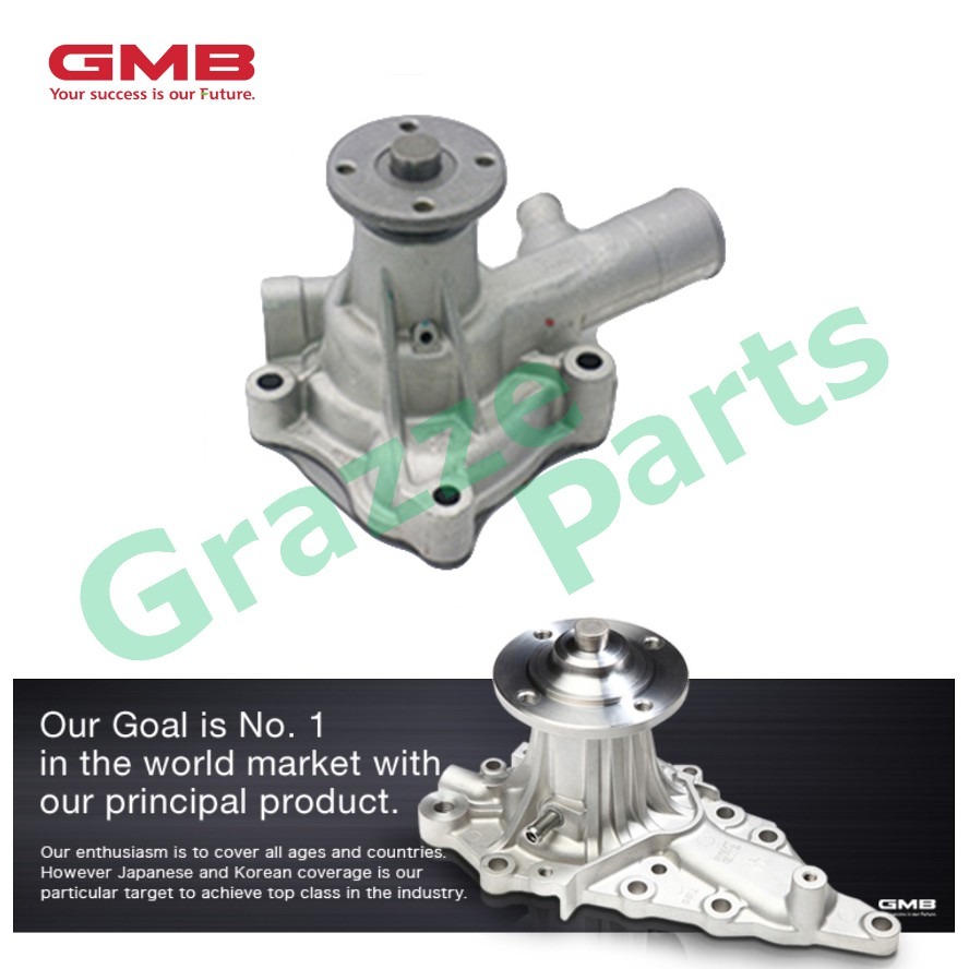 GMB Engine Water Pump GWT-50A for Toyota Liteace KM35 Starlet KP61