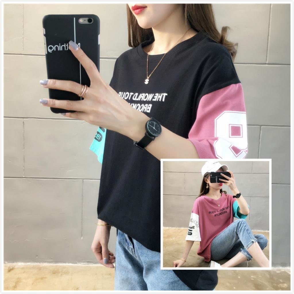 7a171c5ef8a9 Harajuku Elephant T-Shirts Women Short Sleeve Casual Punk Tee Tops Ivory  ella | Shopee Malaysia