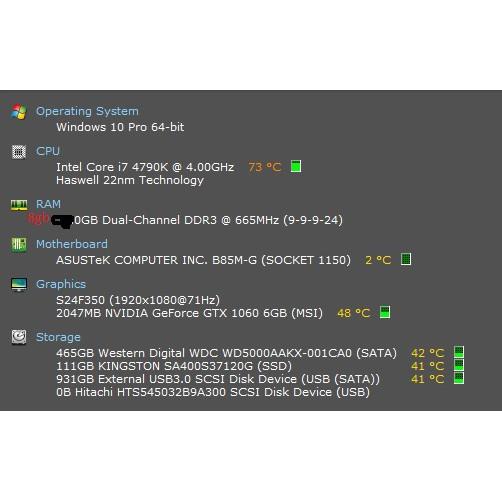 Intel i7 4790k 4 00-4 8ghz Unlock Pro gaming Overclock