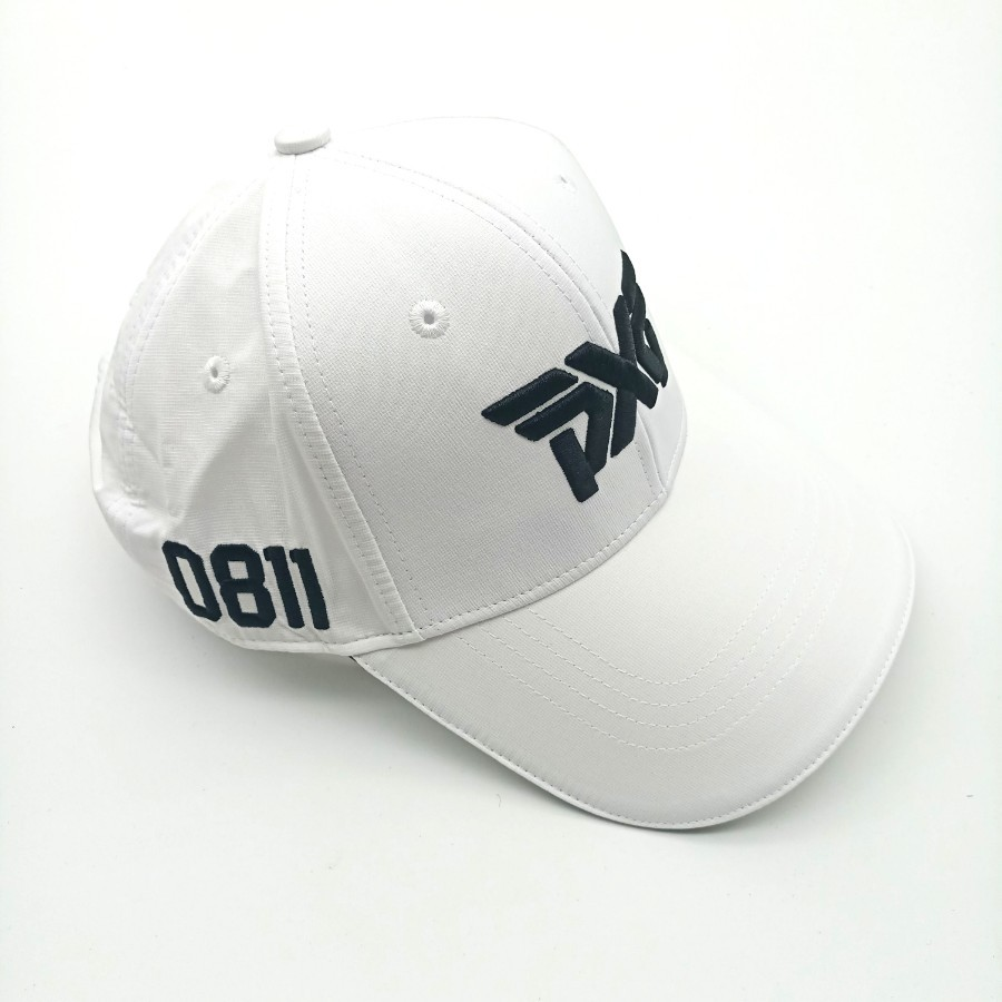 bcb6c6ffdb4 PXG Golf Cap Polyester White