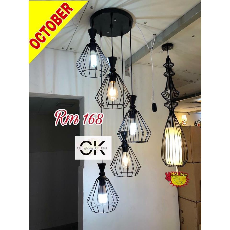 Ck Lighting Modern Pendant Light 5 Bowl