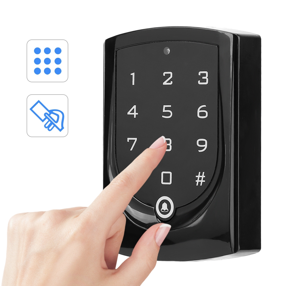 Allinit Access Control Machine Smart Touch Keypad Professional IC Card & Password Recognition Machine Reader Security En