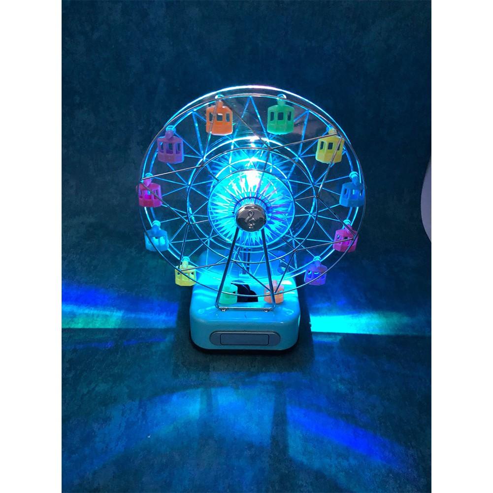 Christmas Ferris Wheel Music Box.Christmas Gifts Children S Birthday Creative Gifts Rotating Ferris Wheel Music Box