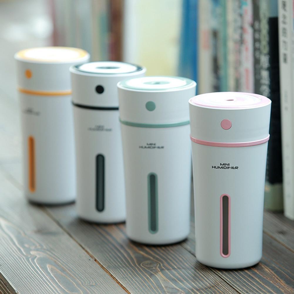 Fo☞USB Mini Cup Shape Humidifier Car Home Air Diffuser