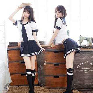e3e21a9bc1 School Uniform Set Student Uniform Sailor Suit Set Japanese School Uniform  Girl | Shopee Malaysia