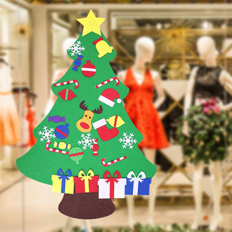 Hanging Christmas Decorations.Diy Christmas Tree With Decorations Door Wall Hanging Christmas Decorations