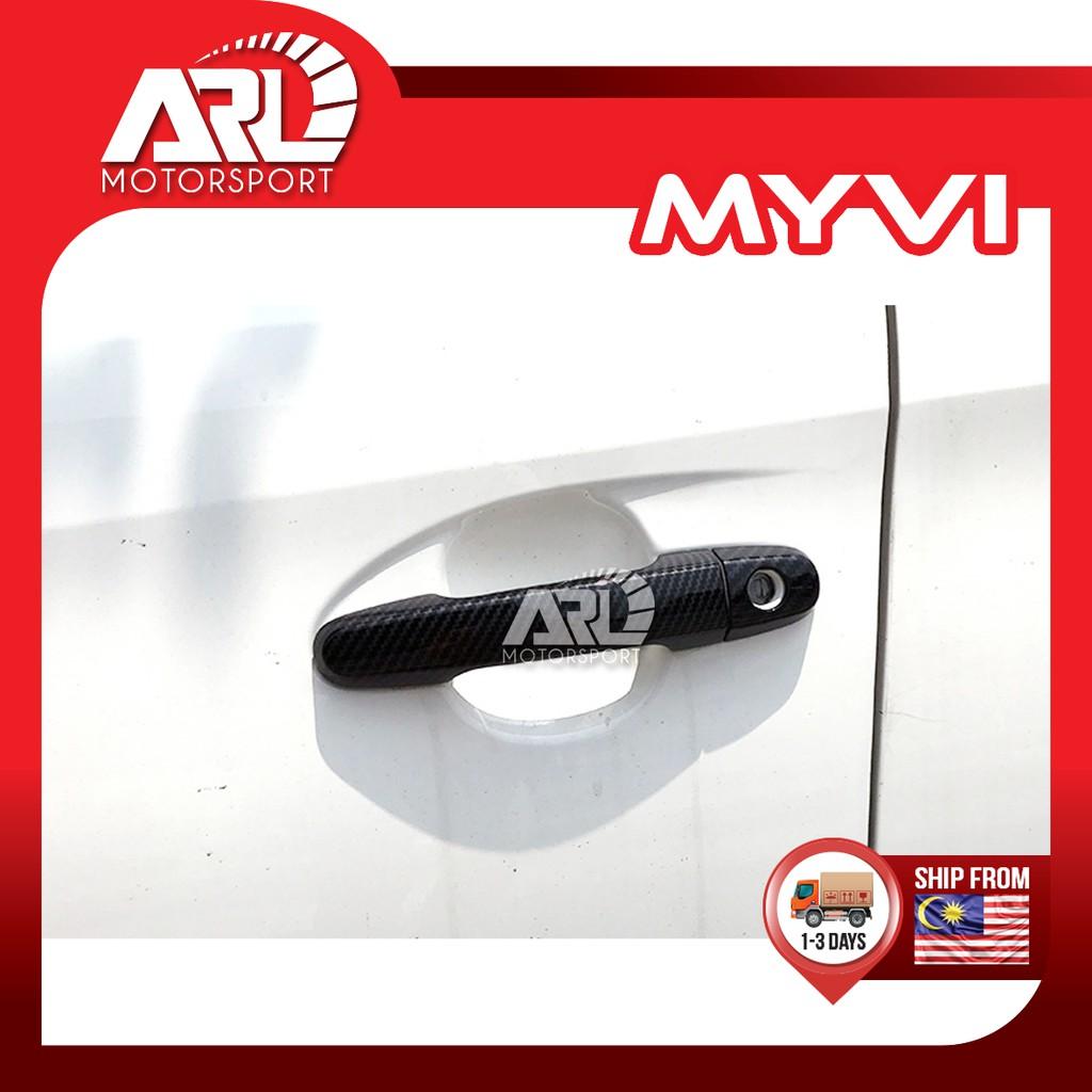 Perodua Myvi (2005 - 2011) M300 1st Gen Door Handle Cover Protector Carbon Fiber Car Auto Acccessories ARL Motorsport
