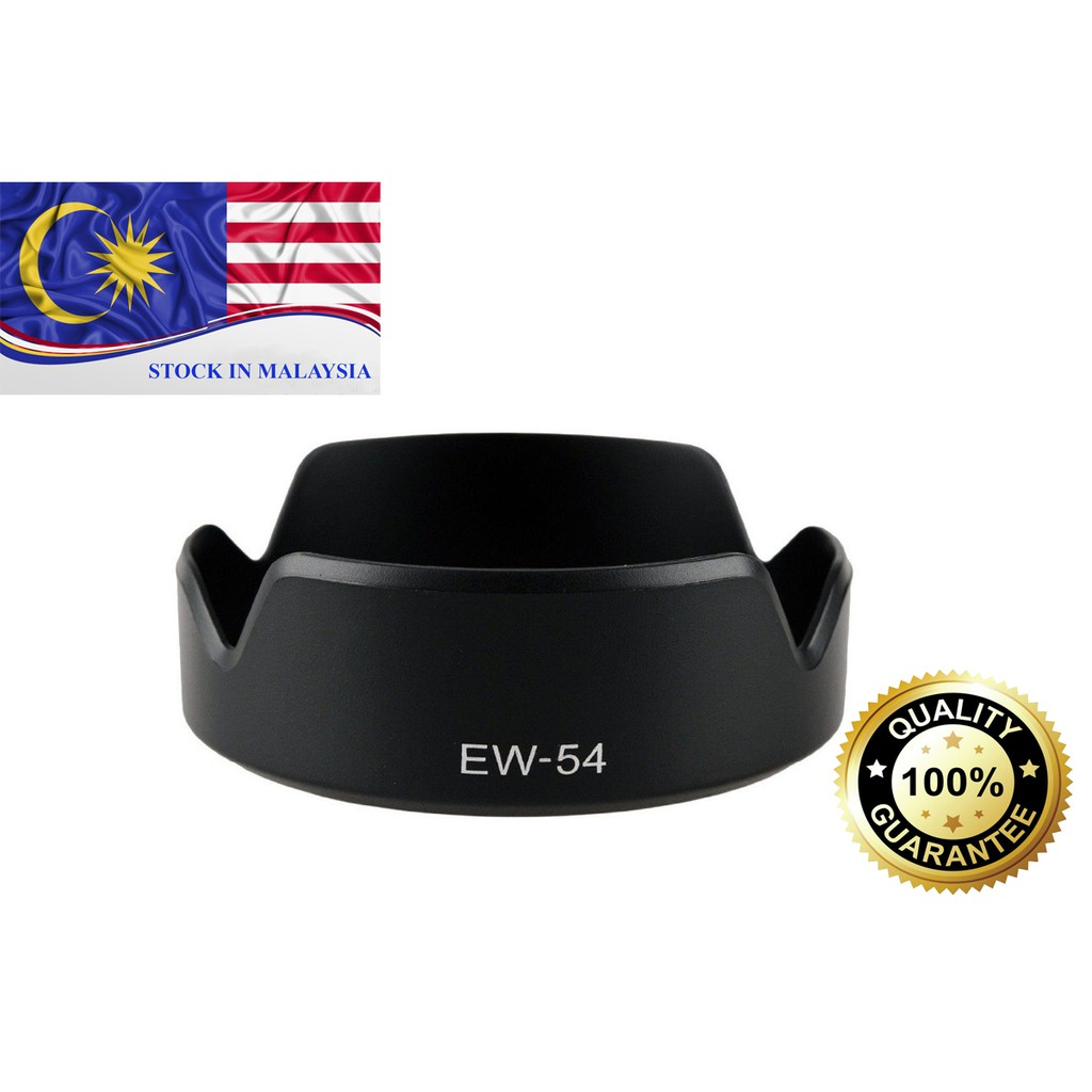 EW-54 Lens Hood For Canon EF-M 18-55mm IS STM (Ready Stock In Malaysia)