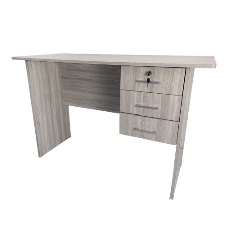 KTY 120CM office Table with lock/ Office Table/ Writing Table/table office/School/three drawers/meja/writing table 324