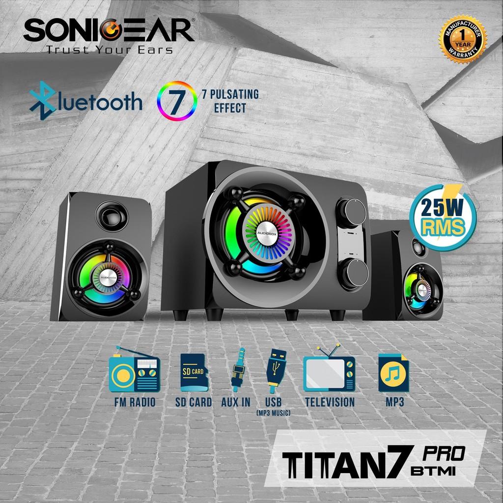 1111sonicgear Soundbar Bt2100 Hot Selling Shopee Malaysia Sonic Gear Evo 9 Btmi Bluetooth Memory Card Usb Radio Fm