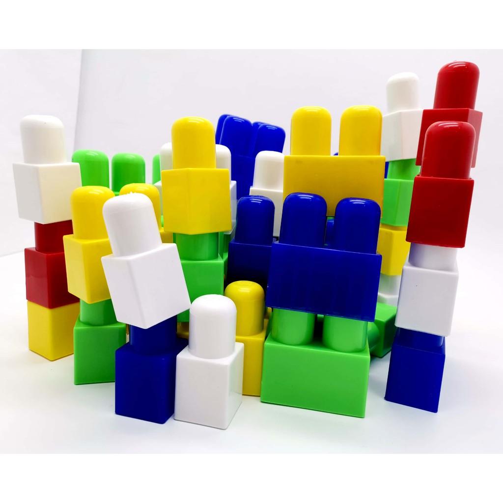 50 PCS SUPER BIG BLOCKS MEGA BUILDING BLOCK TOYS FOR TODDLER AND KIDS