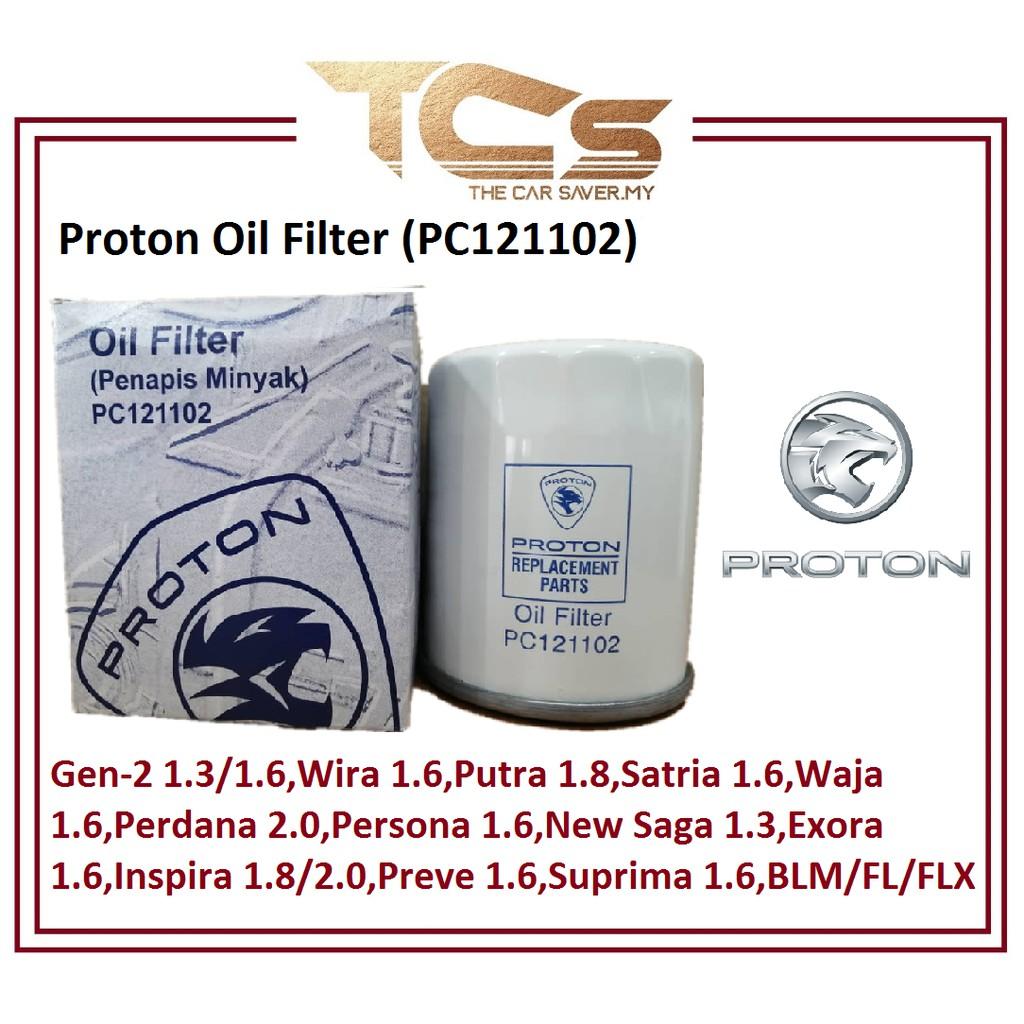 Proton Oil Filter (PC121102)