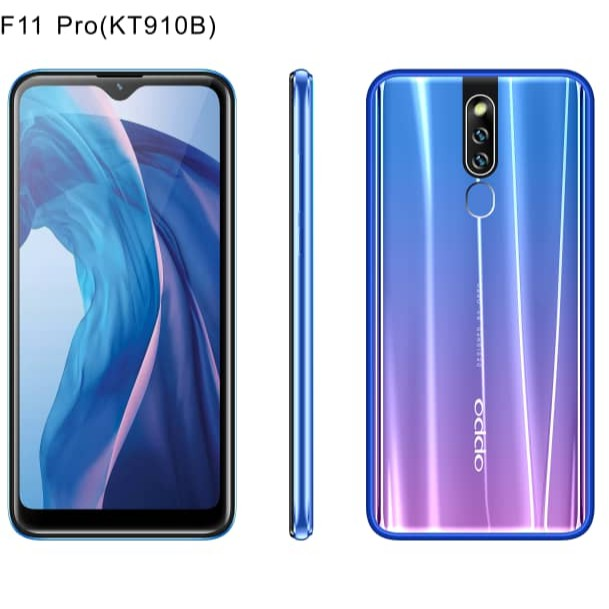 (2019 New Model) OPPO F11 Pro 6 3Inch Waterdrop Screen 3GB Ram/32GB Rom 4G  LTE AGPS Facial Unlock Function (Import New S