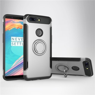 quality design 612b9 885ff For Huawei Honor 8 armor magnetic ring soft case