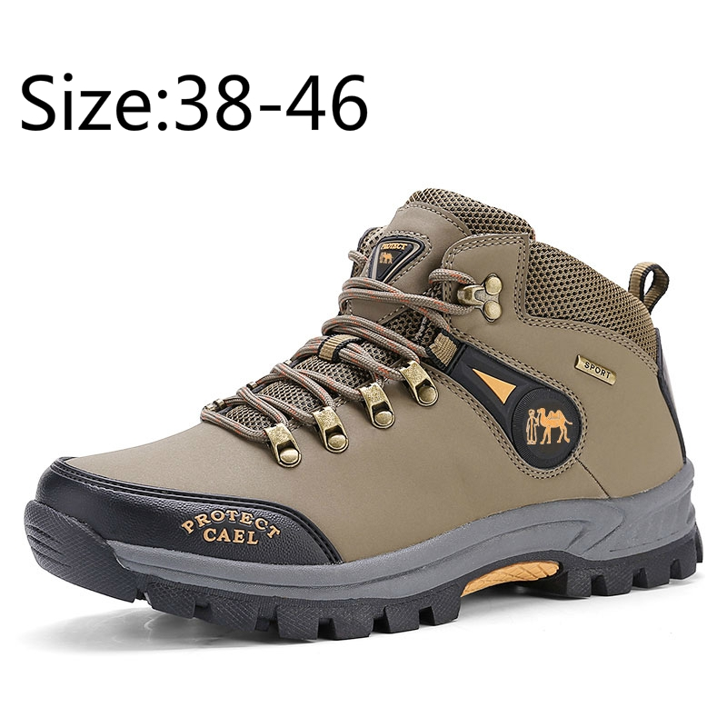 01ccdd7d6ce Hiking Shoes Travel Walking Sports Safety Shoes Outdoor Plus Size 38-46