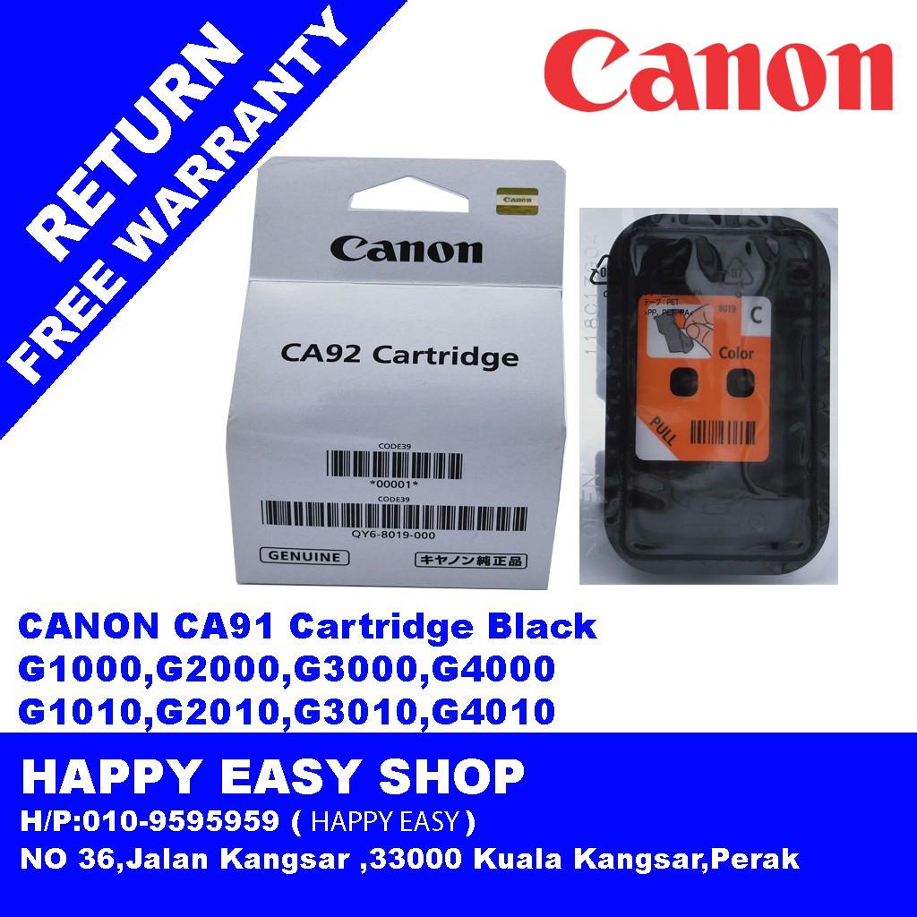 Original Canon CA92 Color Print Head Cartridge