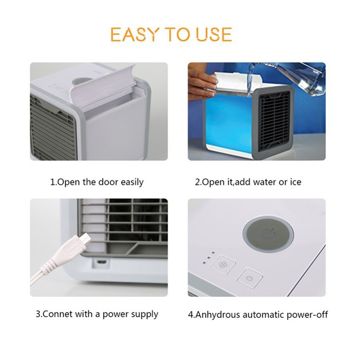 🔥M'SIA STOCK SHP ] Humidifier Cooler Purifier / COOL DOWN- Penyaman Udara Mini/Arctic Air Cooler Humidifier Cooler