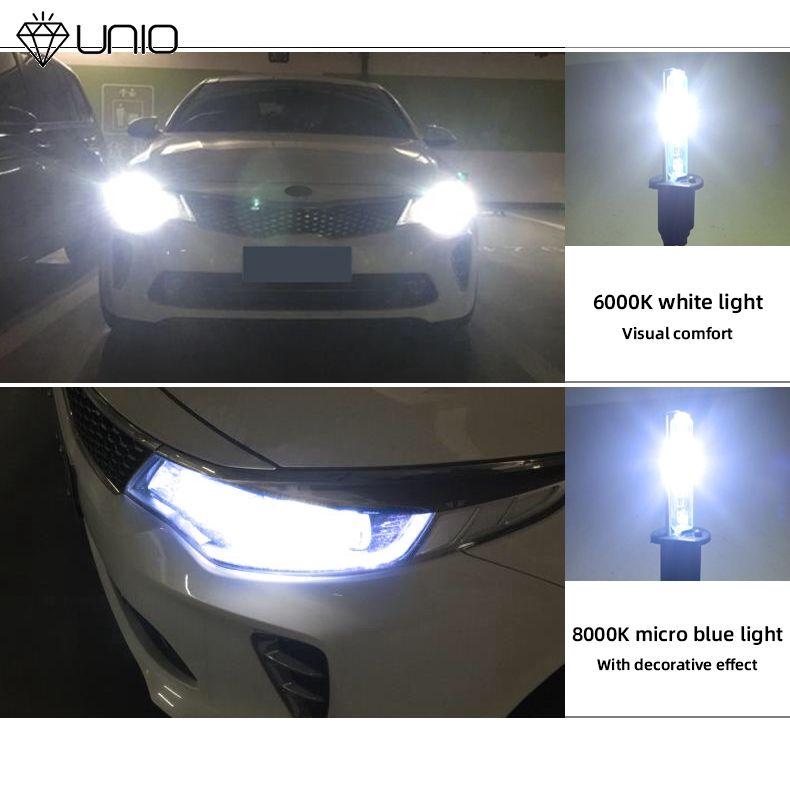 PAIR Audi Xenon White H7 55w Halogen Dipped Headlight Bulbs 6000k