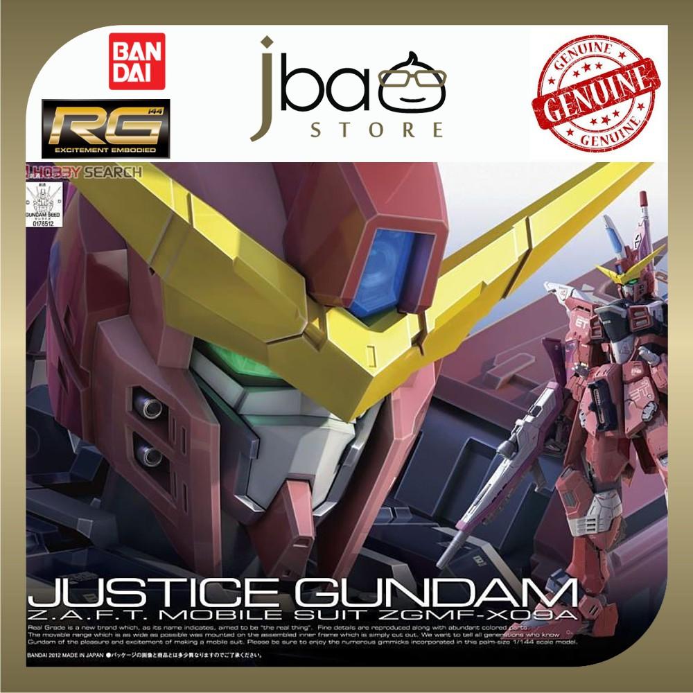 Bandai 1/144 ZGMF-X09A Justice Gundam RG Real Grade 09
