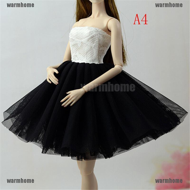 ede74b813956b catchy Handmade Doll Dress Clothes For 1/6 Dolls Party Daily Tulle ...
