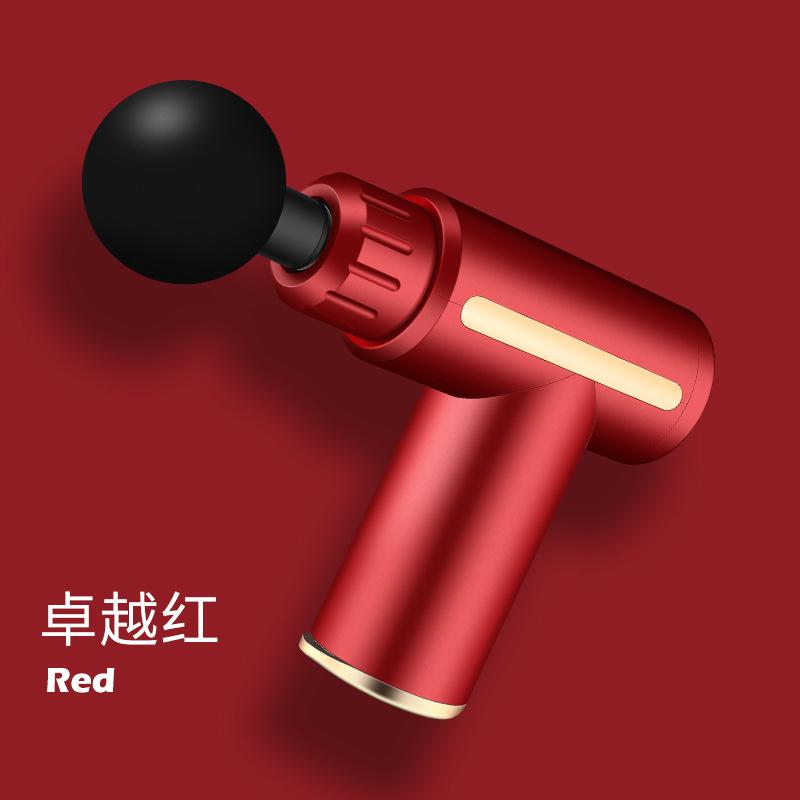 GDeal Mini Vibrating Fascia Gun Muscle Relaxation Massage Equipment Neck Membrane Grab Massaging Gun
