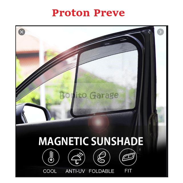 Magnetic Sunshade Proton Preve 4pcs