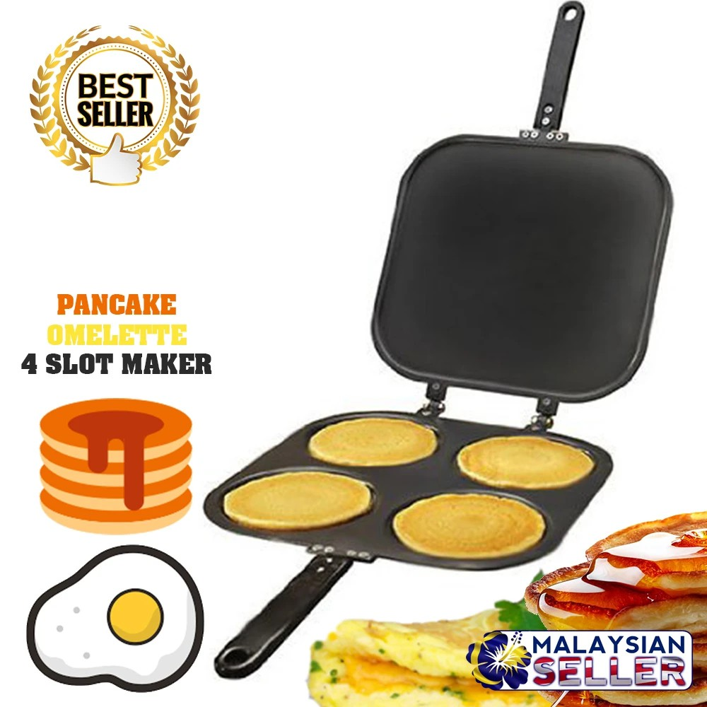 [2020] PANCAKE OMELETTE Maker Pan | Ready Stock | Fast Delivery | Mama.Shopping Mall