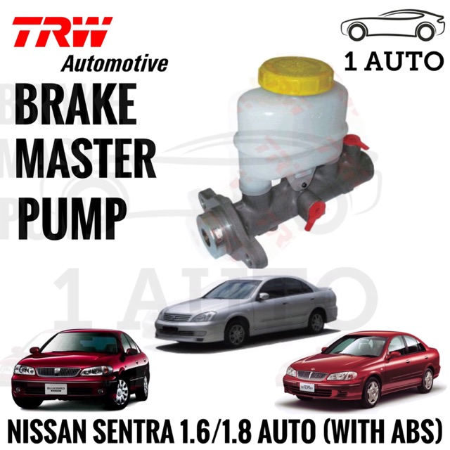 TRW BRAKE MASTER PUMP for NISSAN SENTRA N16 1 6/1 8 AUTO (WITH ABS)