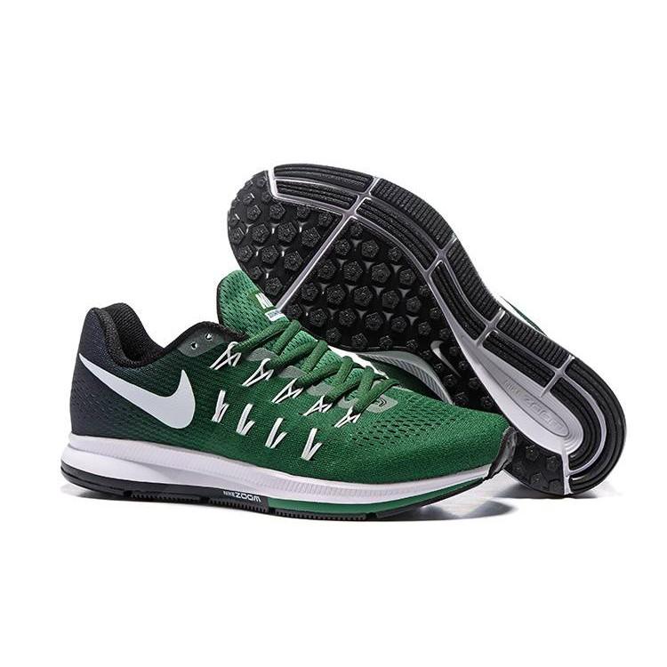 skor för billiga plockade upp stort urval av Nike Air Zoom Pegasus 33 Green | Shopee Malaysia